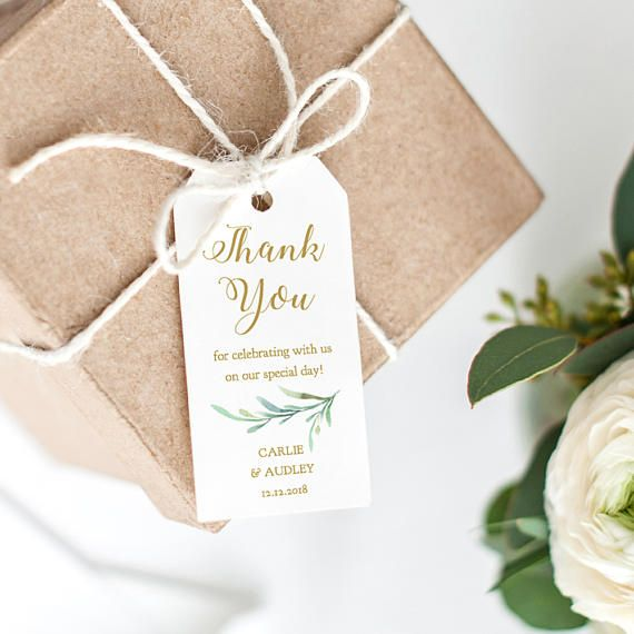 Greenery wedding favour tags template thank you tags size 2x4 six greenery wedding favour tags template thank you tags size 2x4 six on a maxwellsz