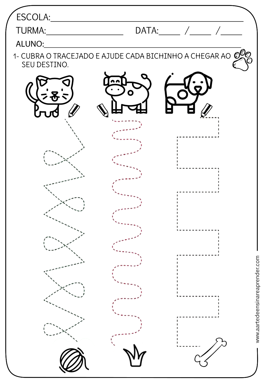 Pin De Hina Zamir En Tracing Worksheets