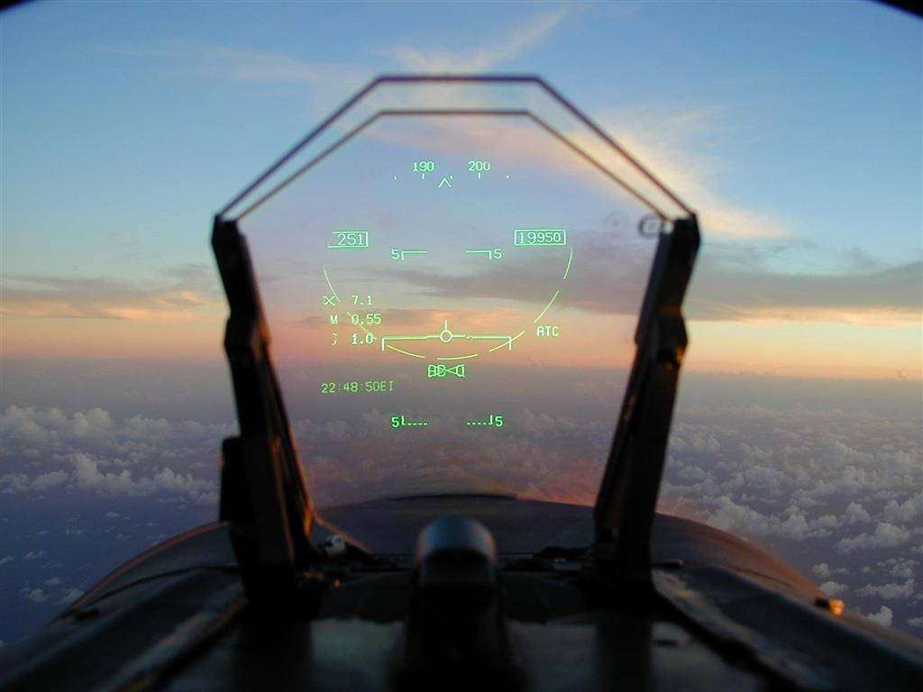 Image result for heads up display fighter jet