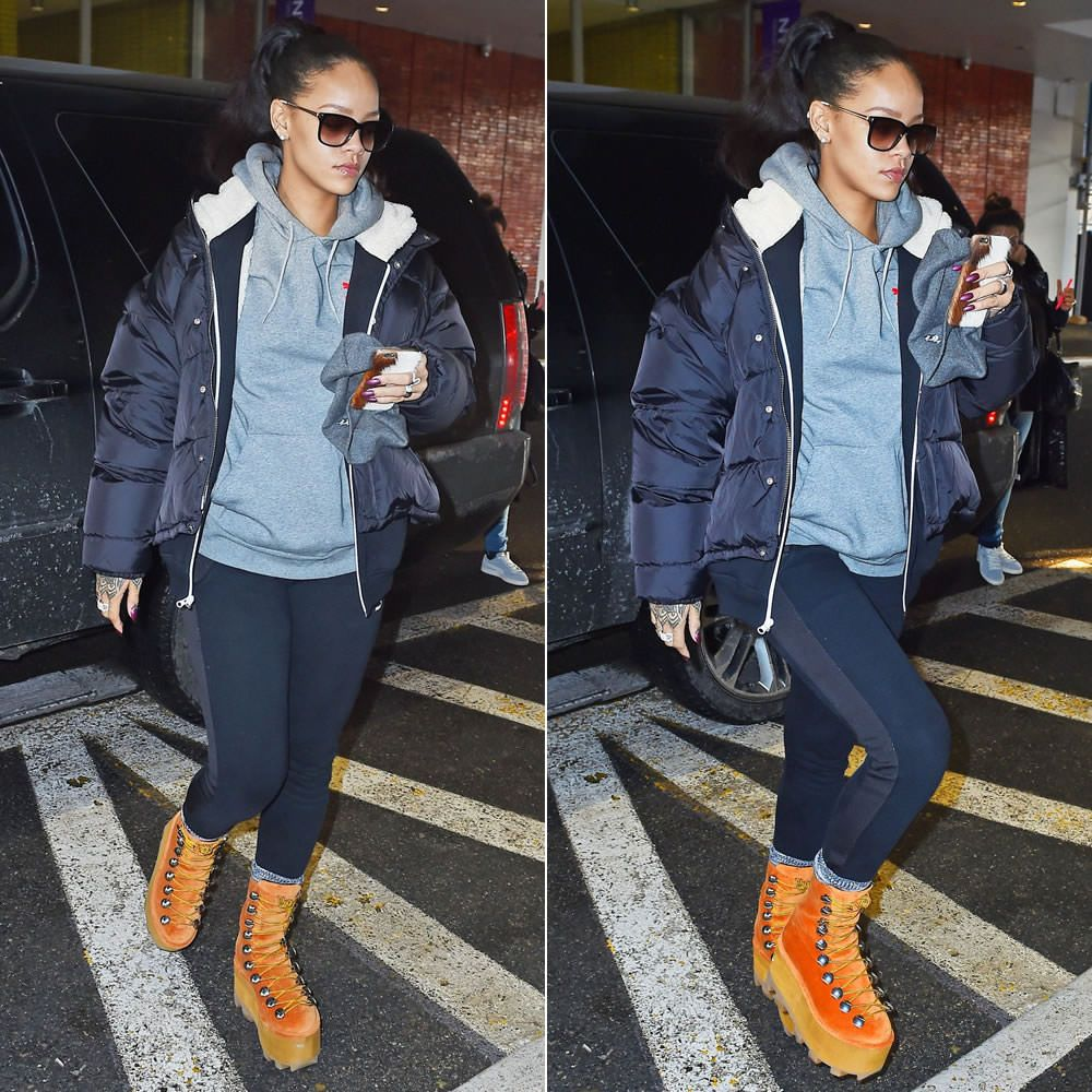 Platform Pumas By Rihanna
