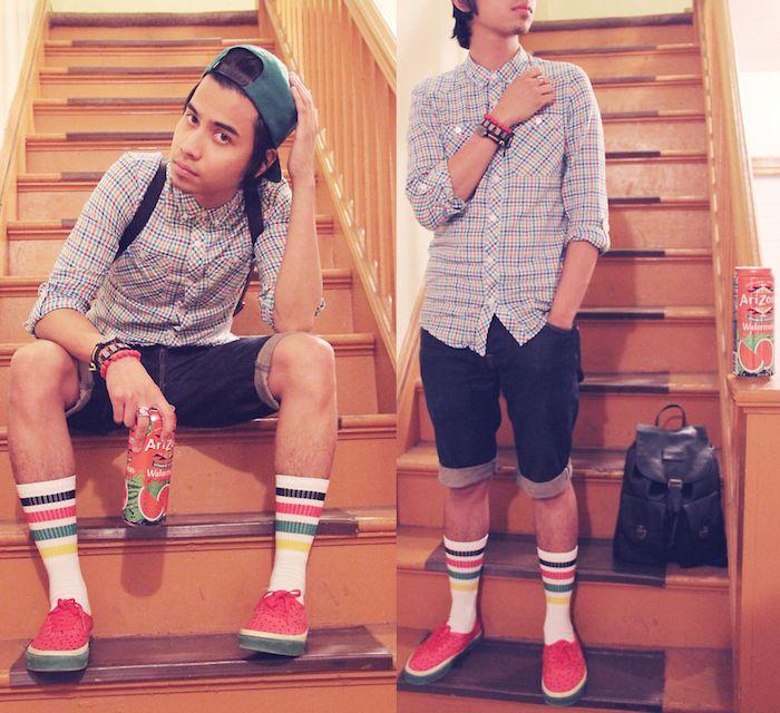 Préférence Comment porter la chaussette haute pour homme | Chaussettes hautes  AT24