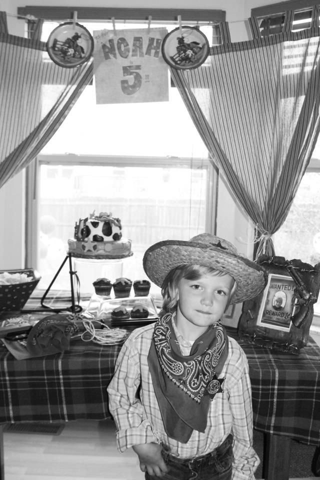 Another party I threw with @Beth Andrews... my son's 5th birthday party with a cowboy theme!