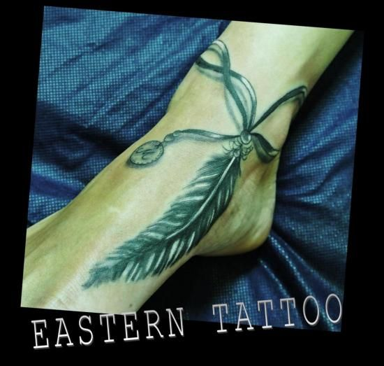 tatouage plume pied - Recherche Google