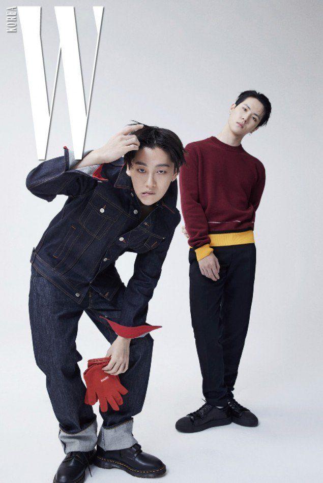 c2c3d13731f Rookie Boy Group JBJ Poses for W Korea