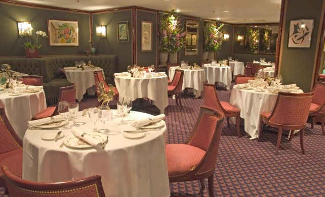All women fantasise about being wined and dined, but it's unlikely that even their wildest dreams will match up to a meal at Le Gavroche. The place oozes pedigree and deliciously decadent old-school charm.