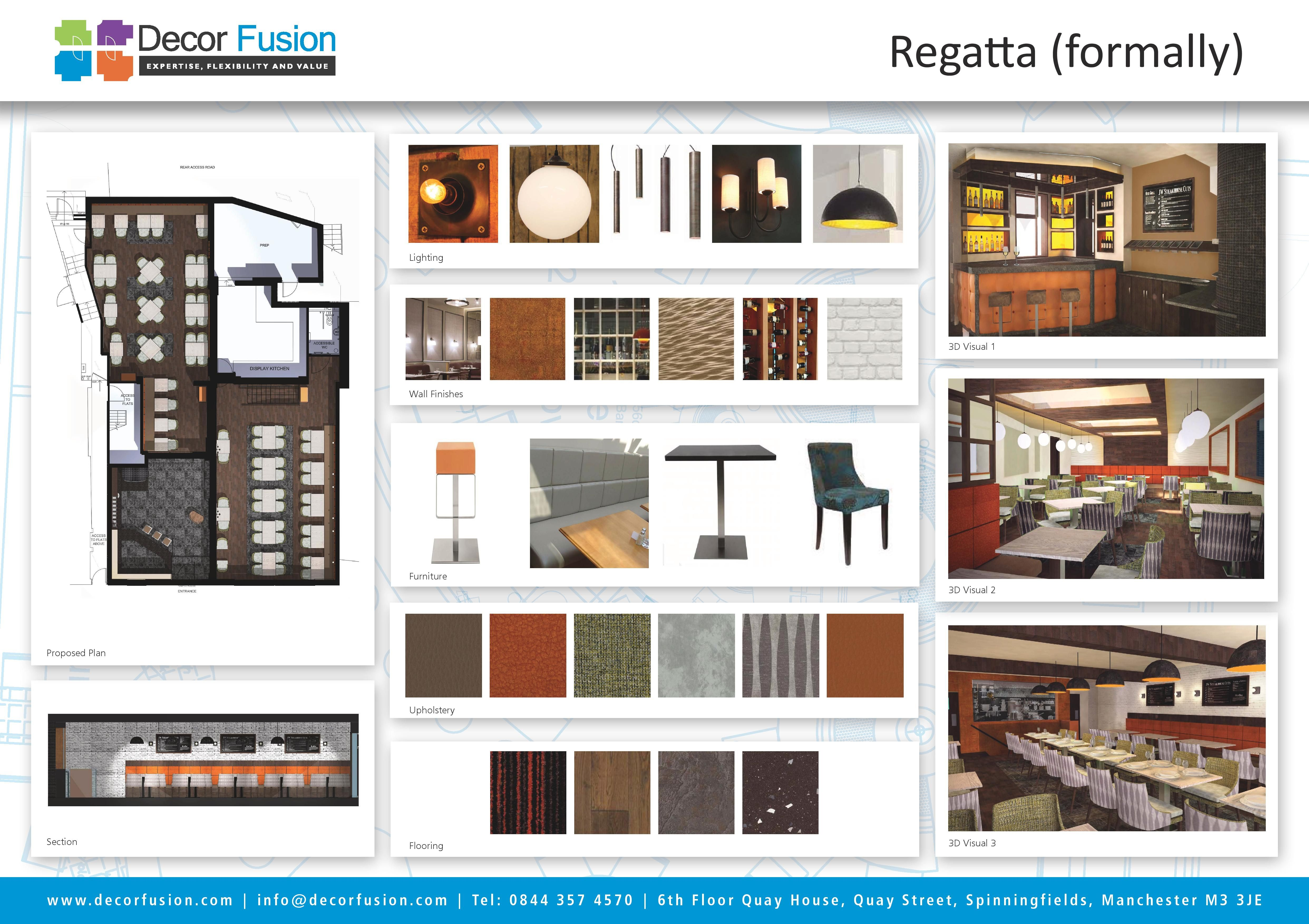 Our Final Presentation Board For Client Buckle Vaughan Interiordesign Designboard