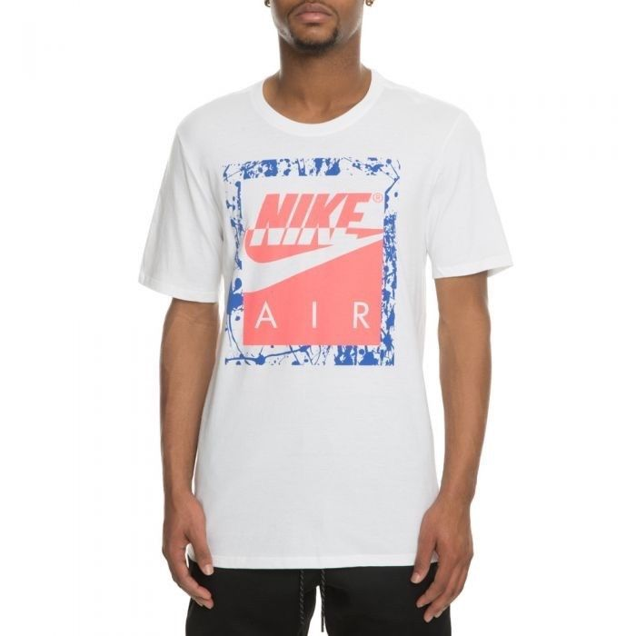 b59a2f411c0e MEN S NIKE T Shirt NIKE AIR HBR WHITE SIREN RED - Medium  fashion  clothing   shoes  accessories  mensclothing  shirts (ebay link)