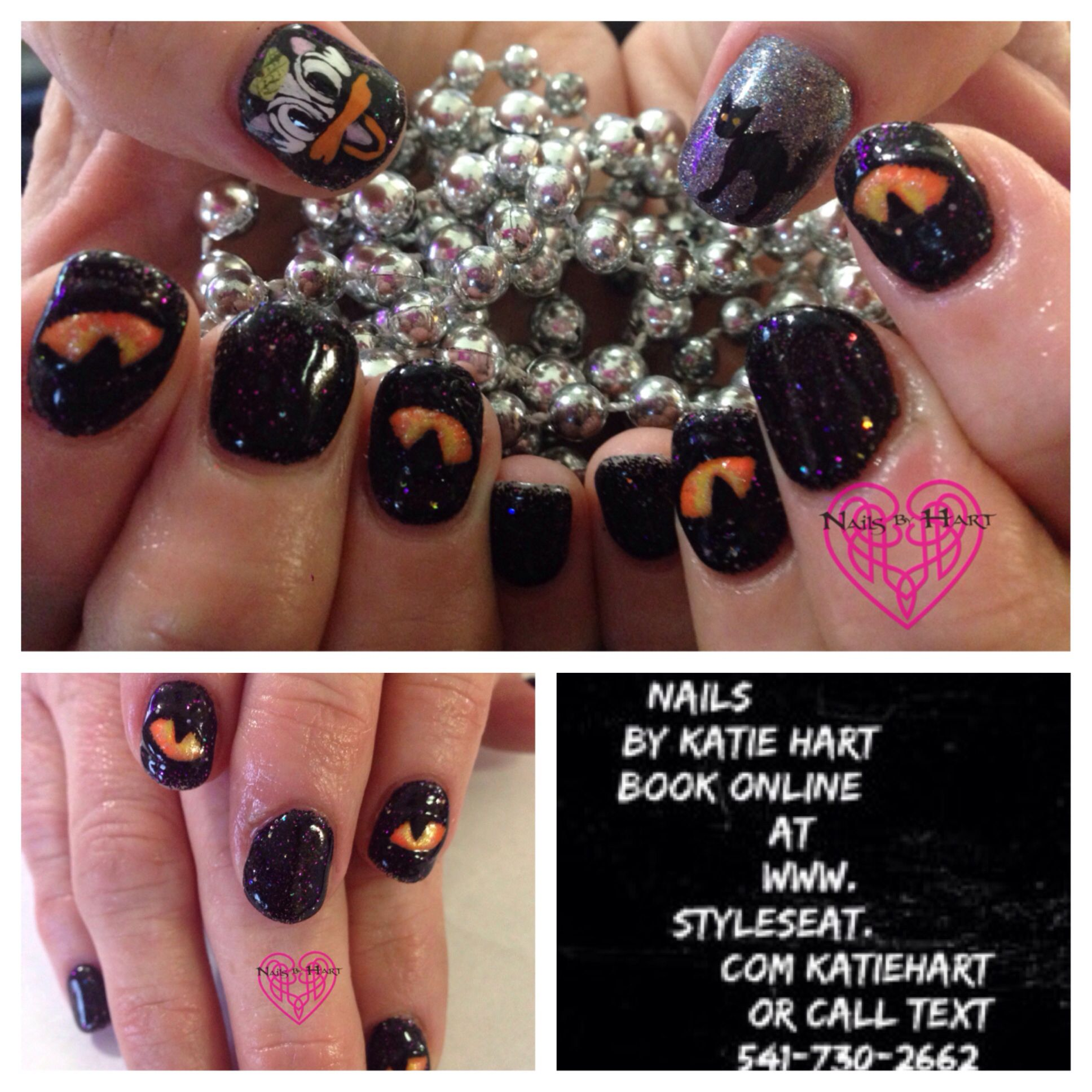 #nailsbyhart #nailsmagazine #nailsmaghalloween # ...
