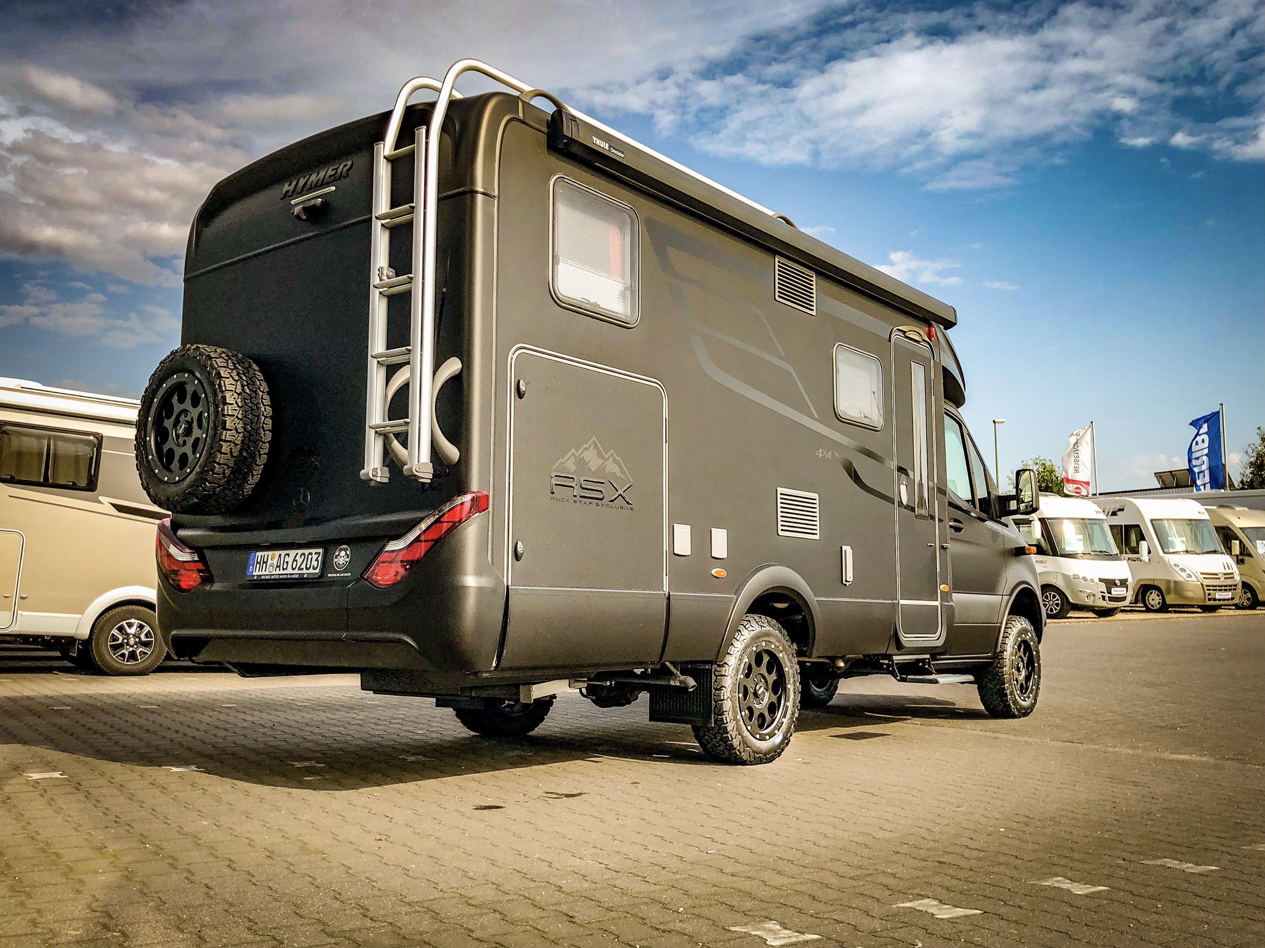 Black back  Reisemobil, Wohnmobil, 10x10 wohnmobil