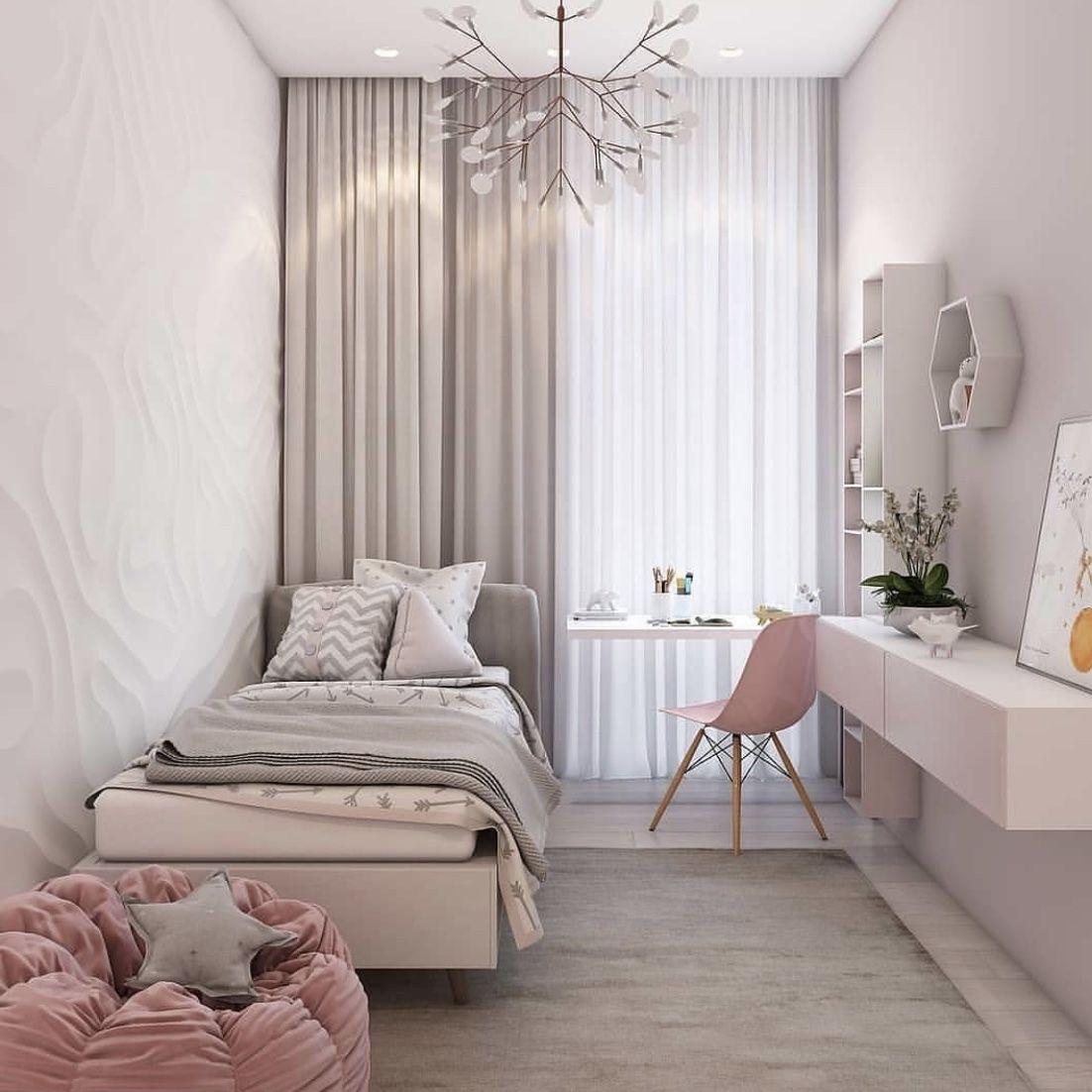 Small single bedroom interior design