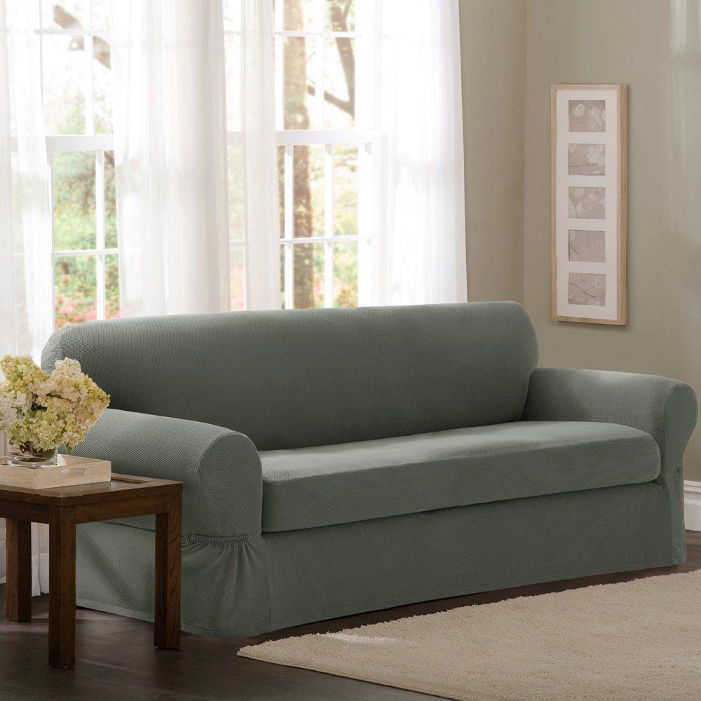 Fabulous Sofa Slipcovers Couch Covers Stretch Slipcover 2 Pc Frankydiablos Diy Chair Ideas Frankydiabloscom