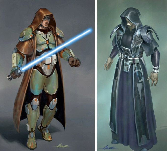 Star Wars : The Old Republic Concept Art