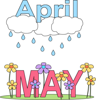 Image result for april showers bring may flowers clip art