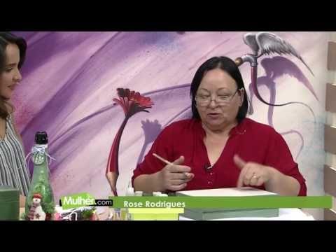 Mulher.com - 16/12/2016 - Caixa de espumante - Rose Rodrigues  PT1 - YouTube
