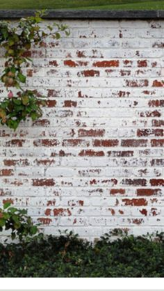 How To Whitewash Exterior Brick In 3 Easy Steps White Wash Brick Exterior Exterior Brick House Exterior