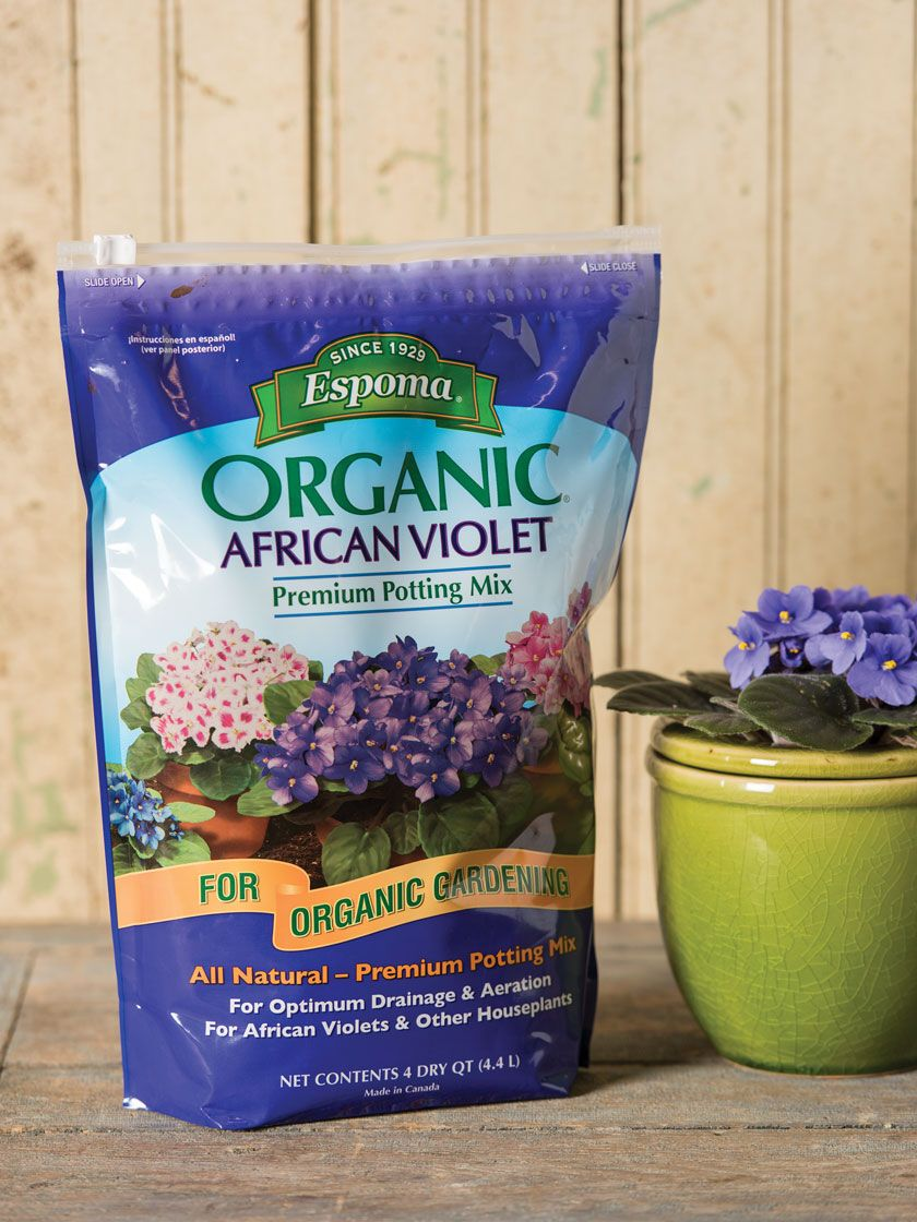Espoma African Violet Potting Mix 4 Qt Gardener S Supply In 2020