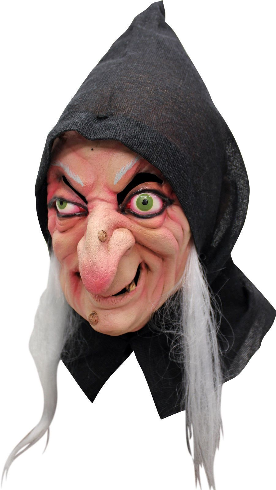 BRAND NEW Evil Witch Fairy Tale Hag Old Woman DELUXE ADULT LATEX ...