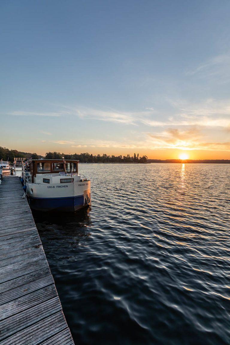 Bootsferien in Brandenburg mit dem Hausboot im Seenland