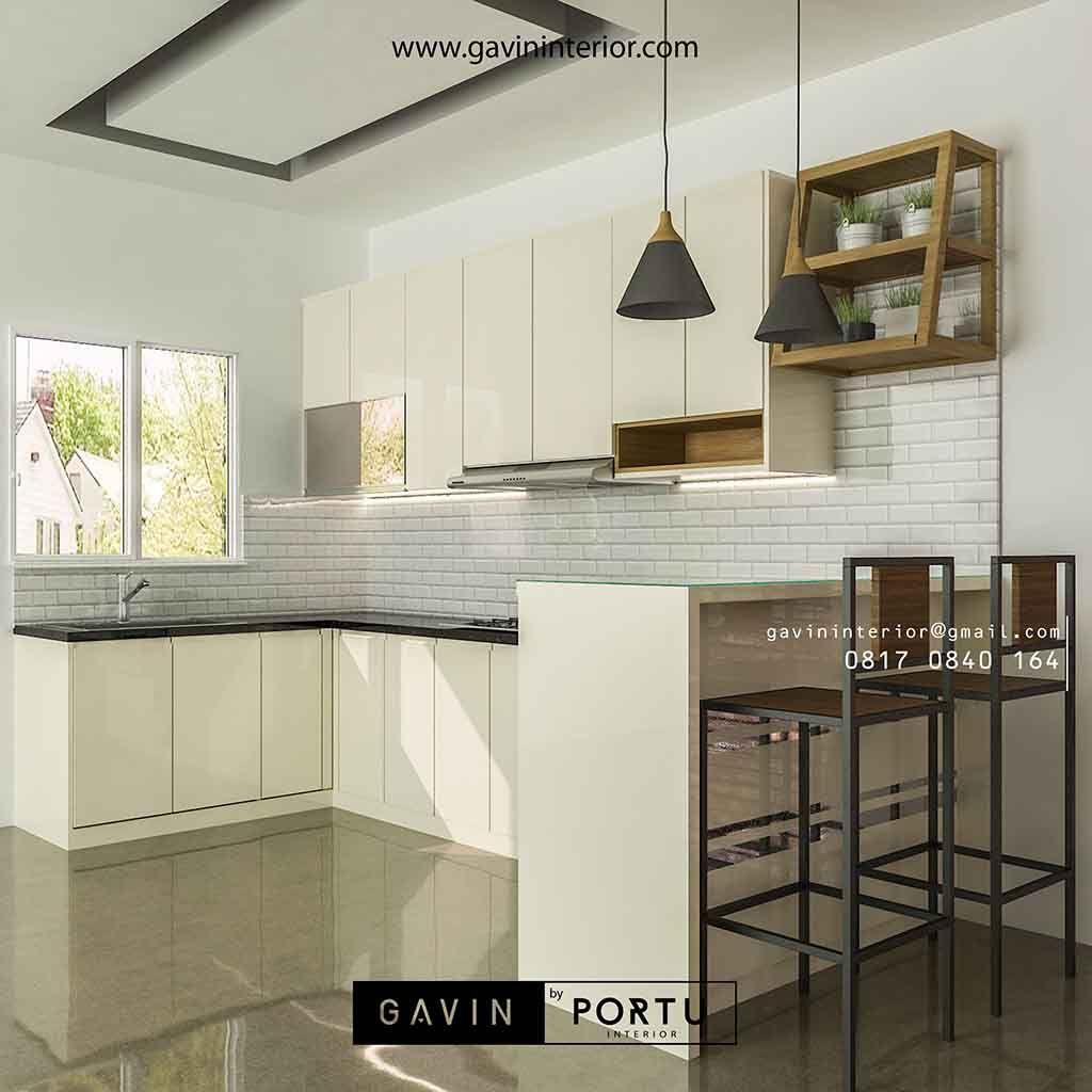 Harga Kitchen Set Minimalis Murah Lengkap Dengan Minibar Di 2020 Minimalis Desain Furniture