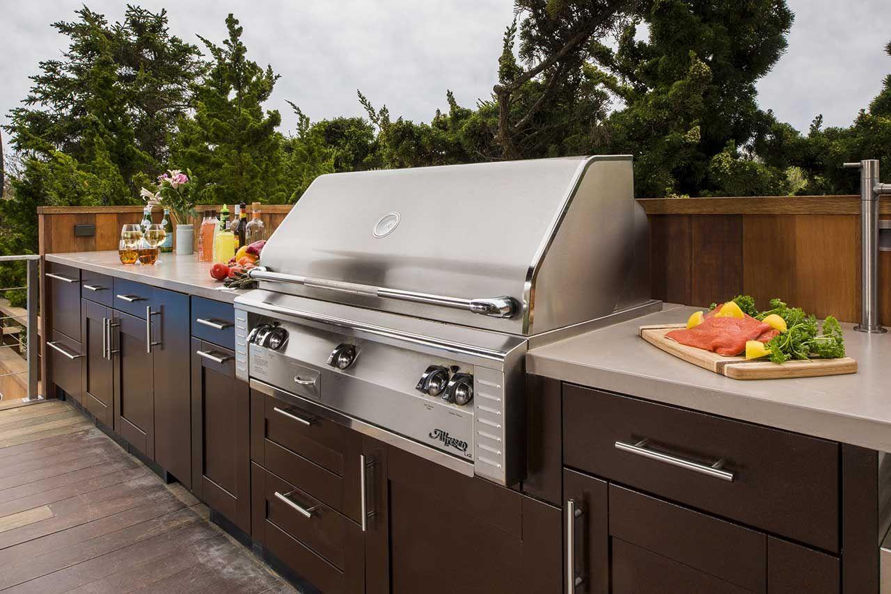 Outdoor Kitchen Ideas | Brown Jordan Outdoor Kitchens | Deck ...
