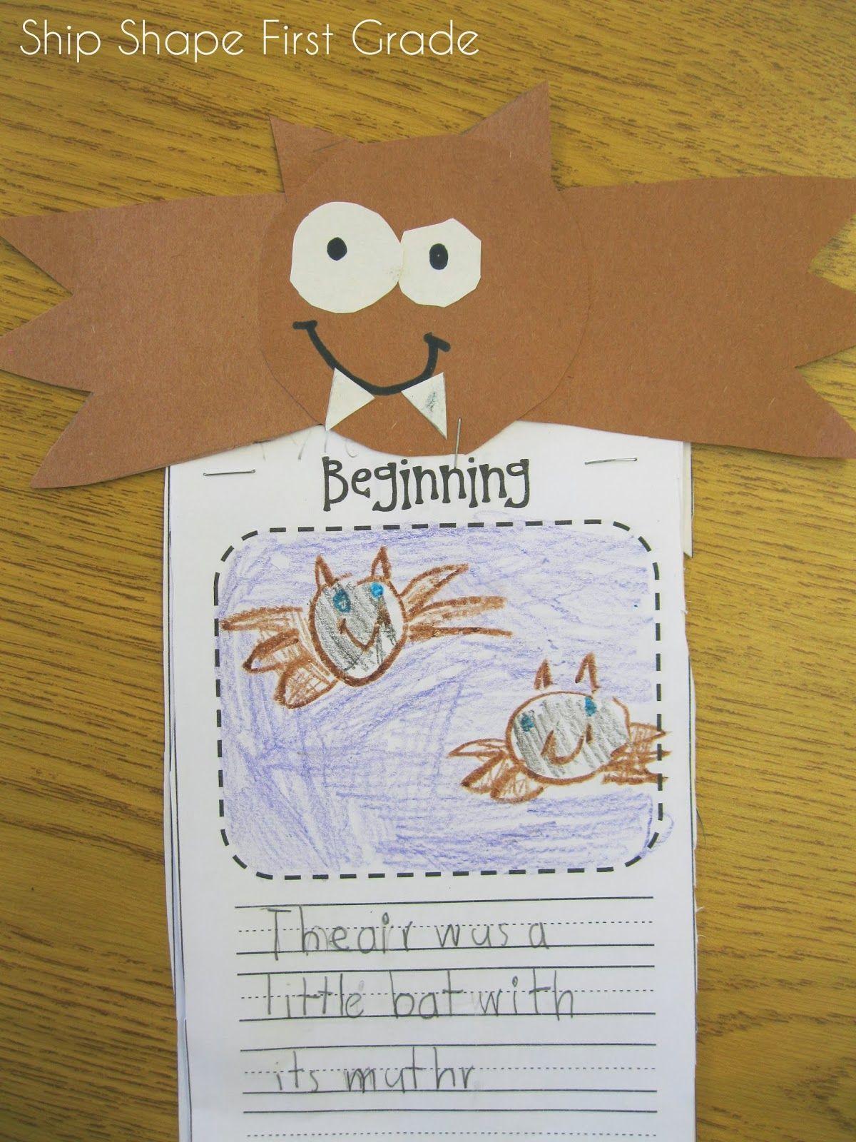 Bat Fiction Story First Grade
