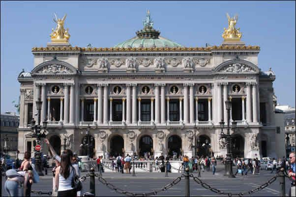 When we got off the train from Normandy and got to Paris for the first time, this was the very first thing we saw! It was amazing...The opera house in Paris!