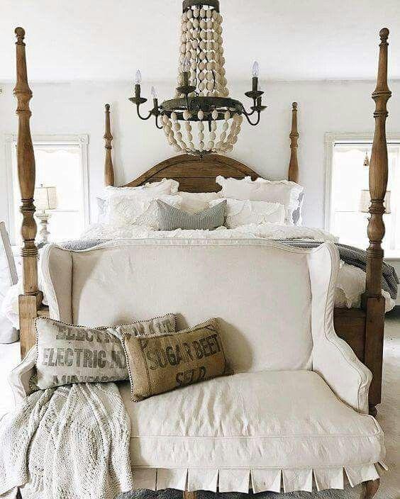 Französischer Landhausstil, Schickes Schlafzimmer, Shabby Chic Schlafzimmer,  Gemütliches Schlafzimmer, Gästezimmer, Hauptschlafzimmer, Schlafzimmer Ideen,  ...