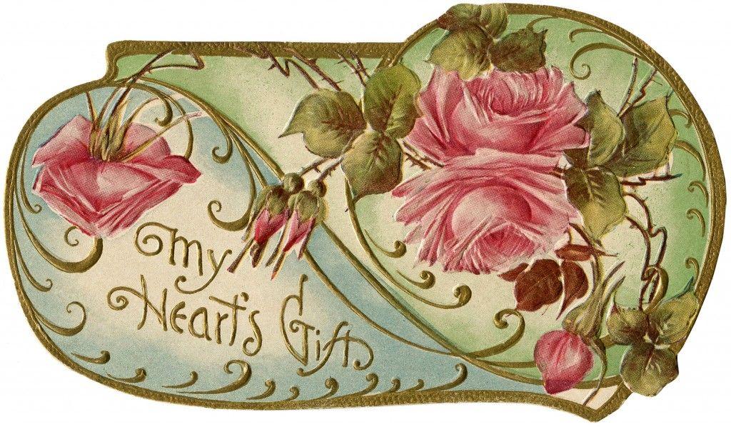 Vintage Flower Fairy Child Image - The Graphics Fairy