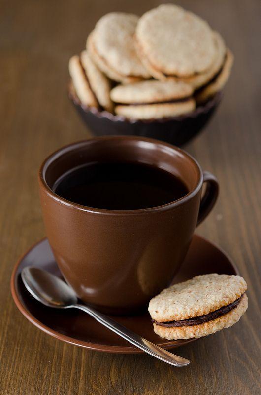 картинки кофе с печеньем чем