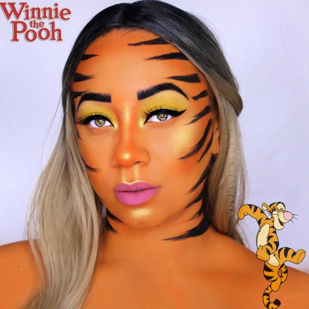 eb993f7acda3 Winnie The Pooh Series Tigger Makeup Illusions