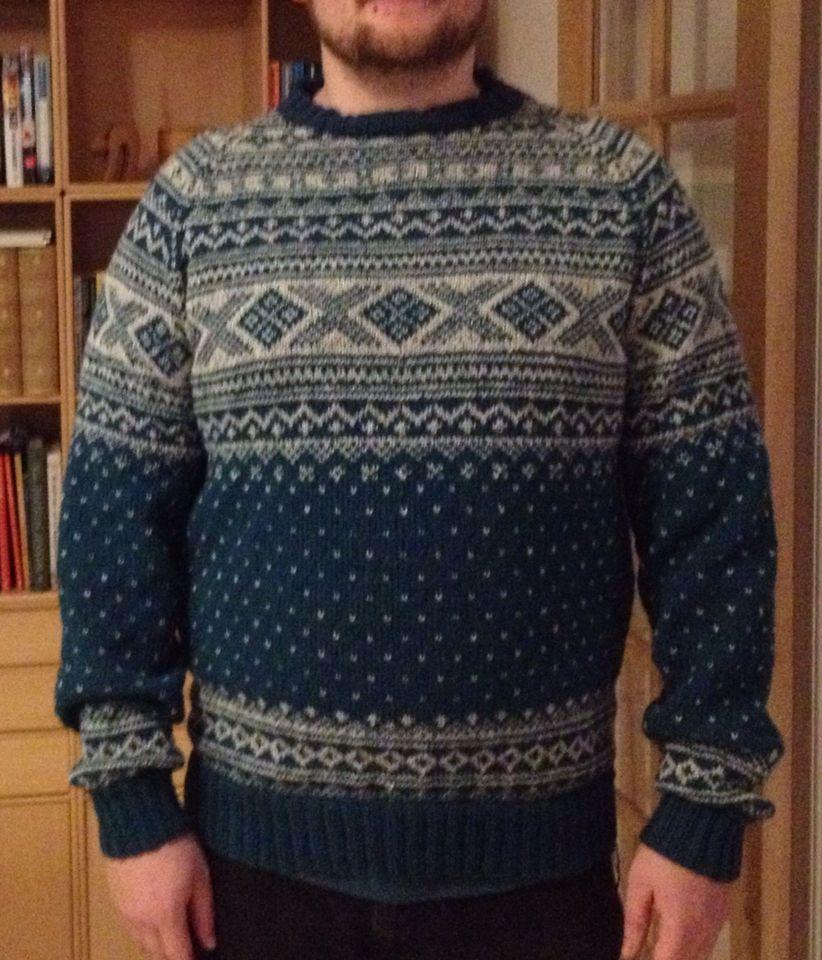 Sweater i Kaunigarn