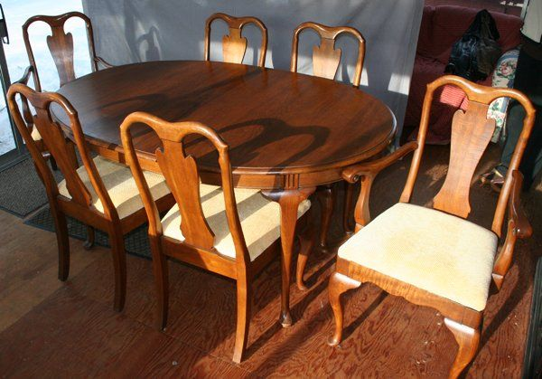 Davis Cabinet Dining Room Table Vintage   Google Search
