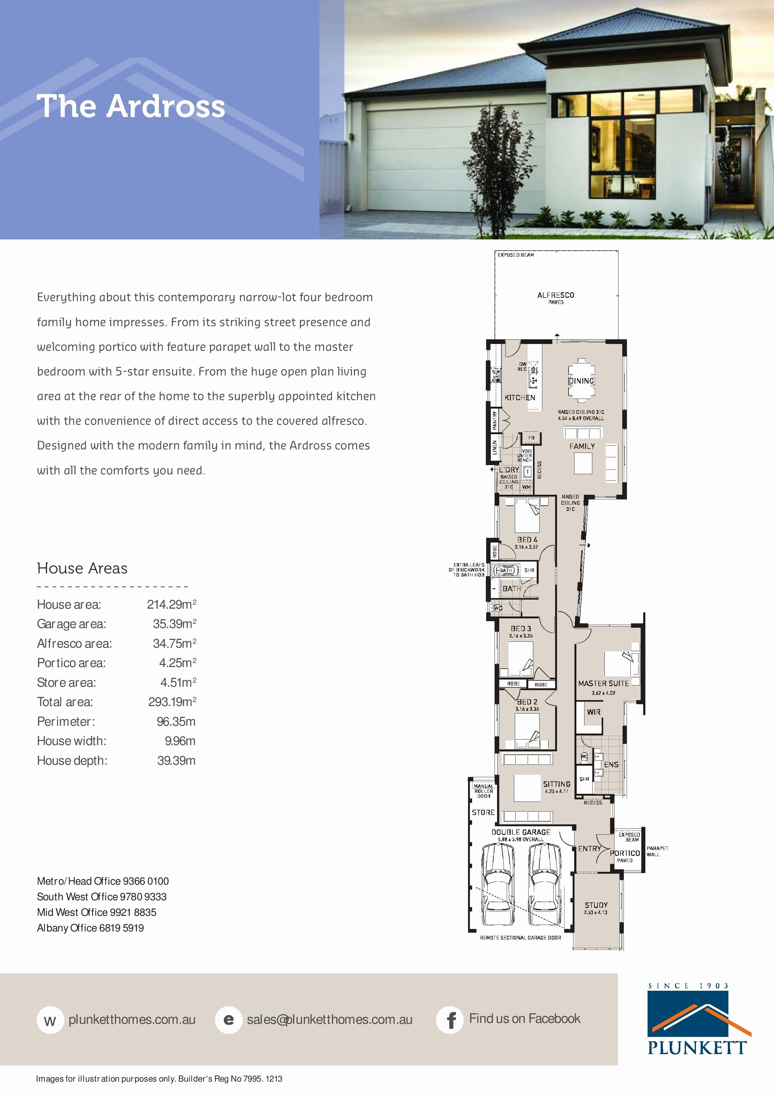 2 Story House Plans Narrow Block Lovely 2 Narrow Block Home Designs Single Storey House Plans Fo Narrow House Plans Narrow Lot House Plans Narrow House Designs