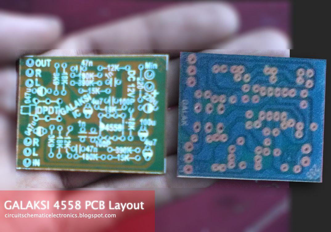 IC 4558 Galaksi Circuit   ic4558   Pinterest