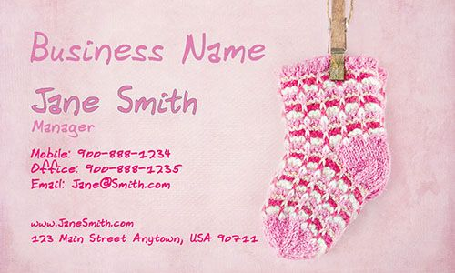 Babysitting Business Card Example Examples Of Business Cards Babysitting Business Card Design
