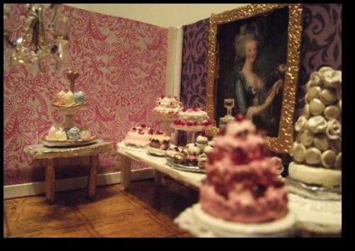 Marie Inspired Minitures- CUSTOM Doll House Furniture Vera Dawes
