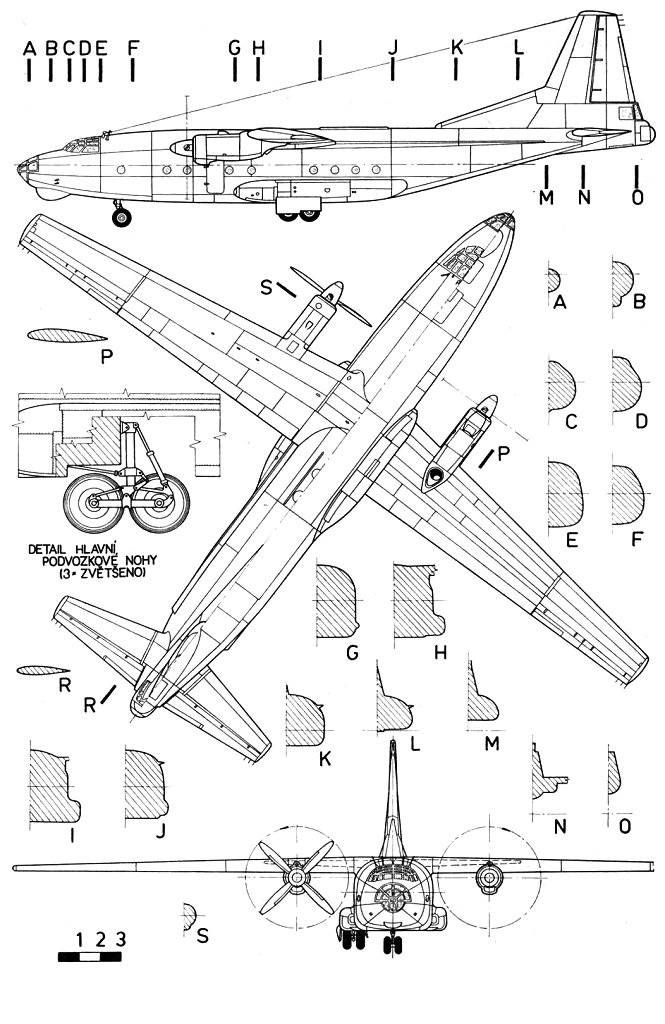 Airplane Blueprint Avio