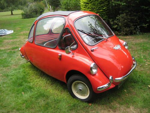 Heinkel Trojan Wheel Bubble Car One Of The Best