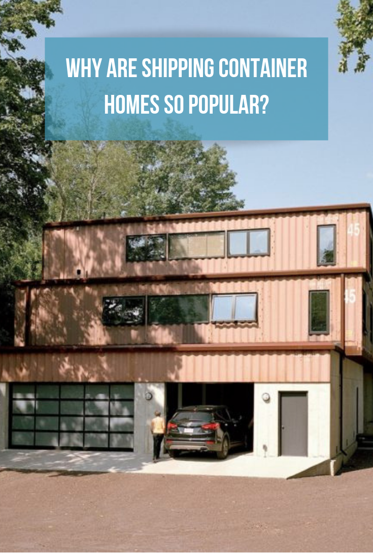 What Attributes About Shipping Container Homes Makes Them So Desirable And Popular For Some People Container House Shipping Container Homes Shed Of The Year