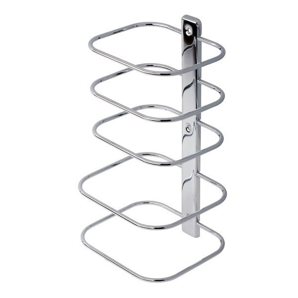 Towel Stand Geesa 125 Contemporary Chrome Multi Level Wall Mounted Rack