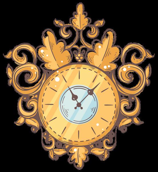 Цветные картинки для оформления старинных часов