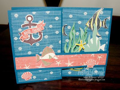 Rachel's Stamping Place: Non-Traditional Card Fold, Love Different