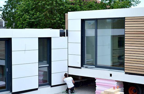 Neues wohnen im cubig designhaus minihaus h user in for Cubig minihaus