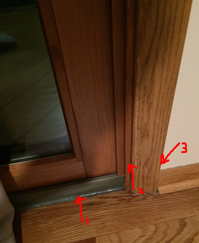 Sealing Around Sliding Glass Doors Glass Doors Pinterest Glass