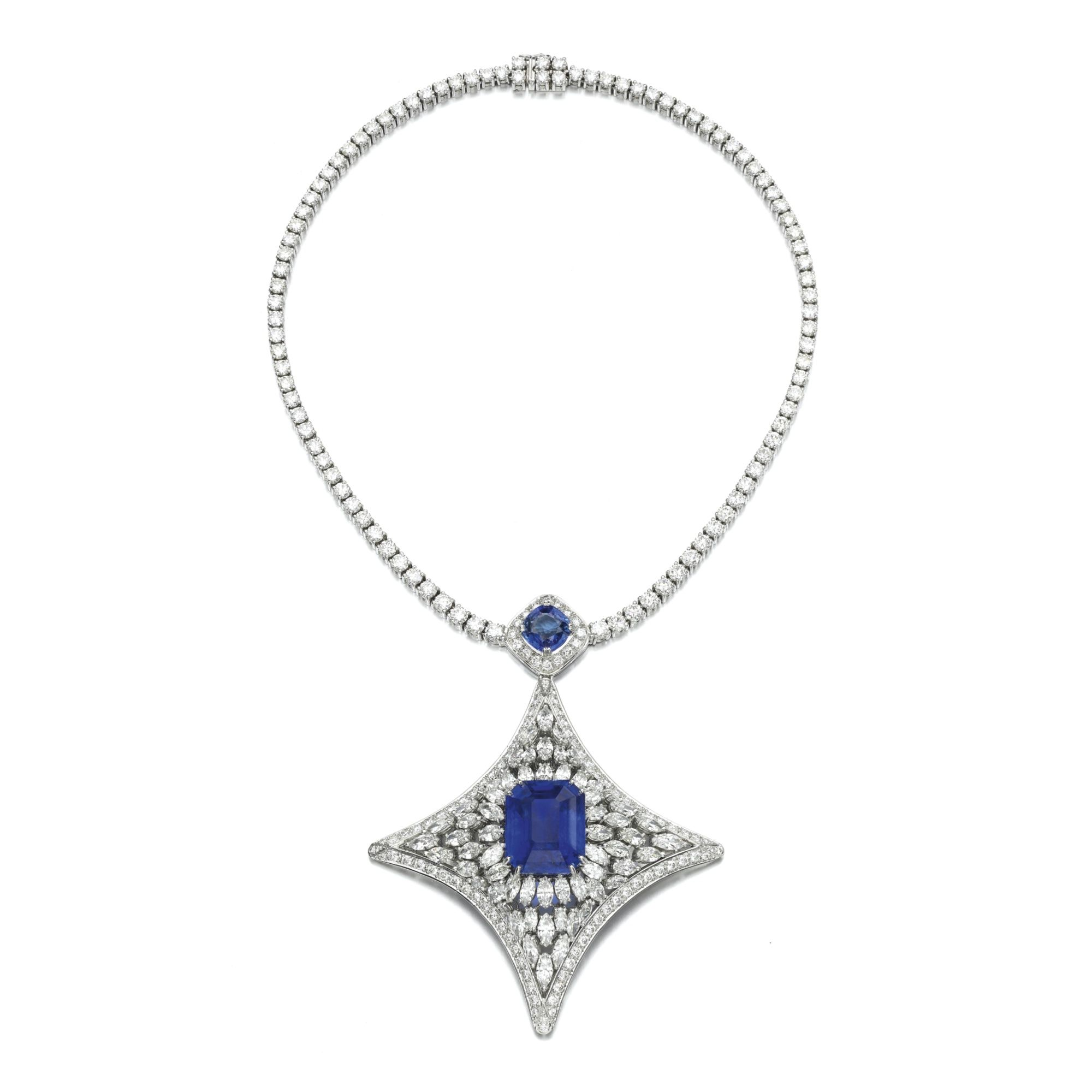 silver necklace diamond of hires cheap sterling en effervescence london and amp gb blue links