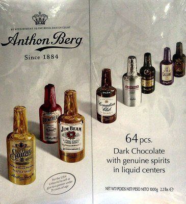 Anthon Berg Dark Chocolate with Genuine Spirits in Liquid Centers 64 Ct Holiday Gift Box Assorted - http://mygourmetgifts.com/anthon-berg-dark-chocolate-with-genuine-spirits-in-liquid-centers-64-ct-holiday-gift-box-assorted/