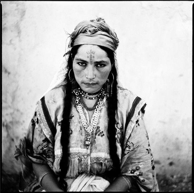 marc garanger (collection de l'artiste) femme algérienne 1960