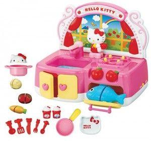 Hello Kitty Toy Kitchen Set   Hello Kitty Princess Wants! #HKPW ...