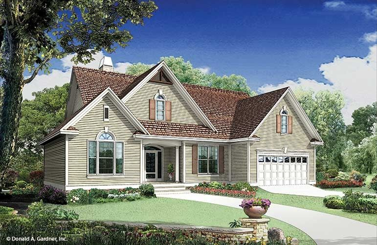 House Plan The Keegan by Donald A. Gardner Architects | house ...