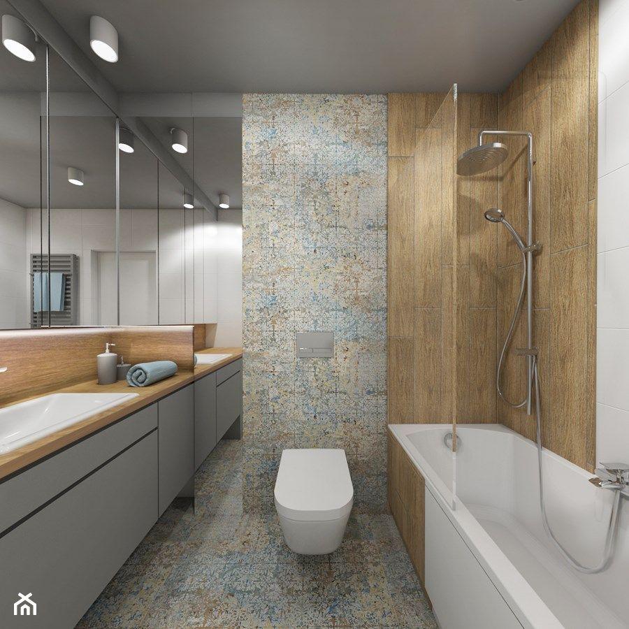 Piękne Płytki Na Podłodze łazienka In 2019 Bathroom